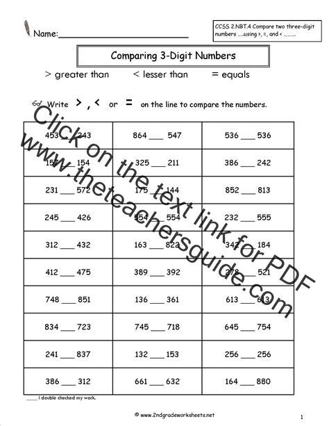 greater    worksheets  grade kids activities
