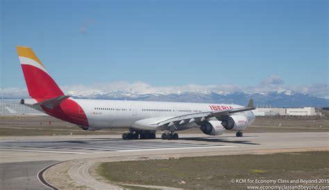 Airplane Art Iberia Airbus A340 600 Economy Class & Beyond