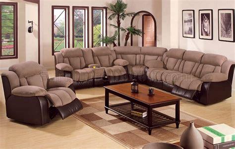 Contemporary Microfiber Sofa by Saddle Microfiber Contemporary Reclining Sectional Sofa