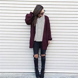 Black And White Striped Shirt Outfit Tumblr | www.pixshark ...