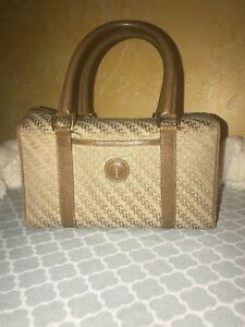vintage gucci boston doctor bag purse gg monogram authentic  super rare ebay