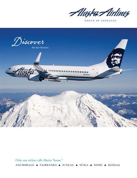Advertising - Alaska Airlines on Behance