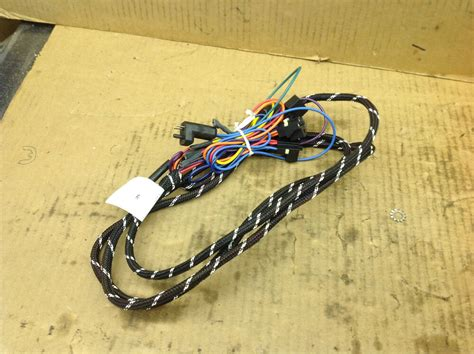 Western Fisher Snow Plow Headlight Wire Harness
