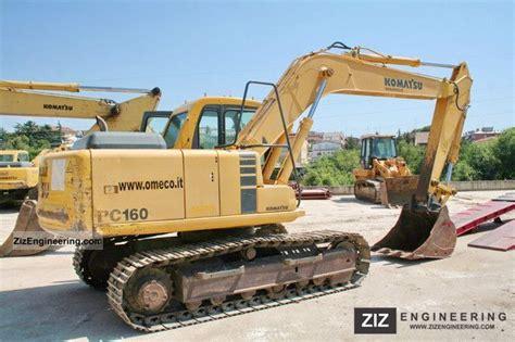 komatsu pc  combined dredger loader construction equipment photo  specs
