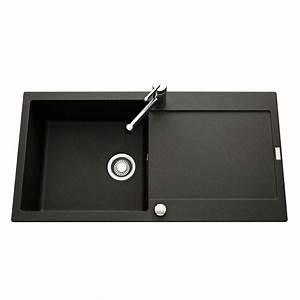 Evier Noir 1 Bac : vier franke de la gamme maris en granit noir graphite 1 ~ Dailycaller-alerts.com Idées de Décoration