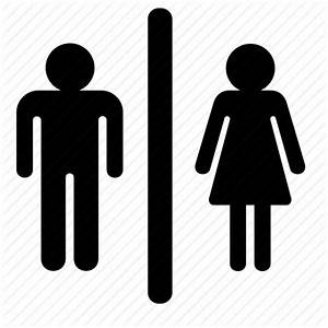 ICON MAN TOILET - ClipArt Best