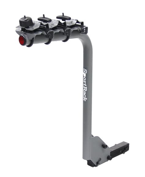 """Sportrack 3 Bike Rack For 114"""" And 2"""" Hitches Single"""