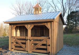 Small Portable Horse Barns for Sale