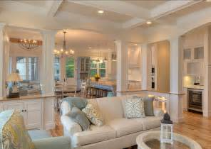 paint ideas for open living room and kitchen new classic coastal home home bunch interior design ideas
