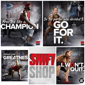 The Shift Shop Workout Program By Chris Downing
