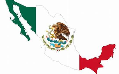 Mexico Flag Map Mexican Clipart Countries National