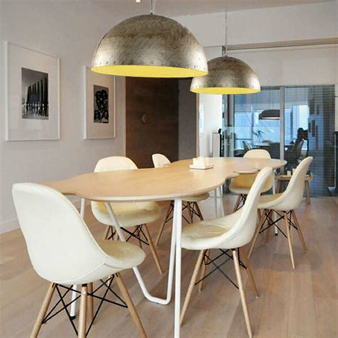 metal industrial hanging l vintage pendant light