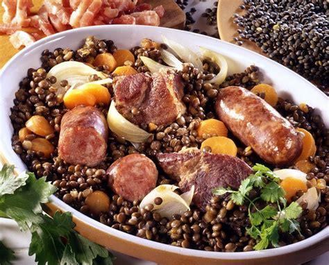 lentille cuisine recette recette c 244 tes de porc aux lentilles