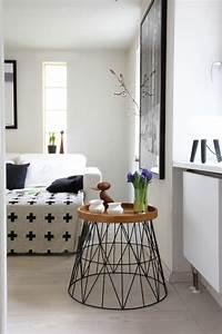 Drahtkorb Tisch Weiß : wohnideen mit dem ferm living wire basket ~ Yasmunasinghe.com Haus und Dekorationen