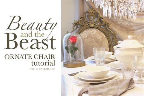 beauty   beast ornate chair tutorial  literature