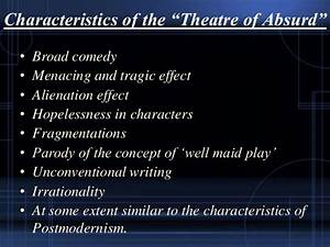 """My presentation on """"Influence of Theater of Absurd in the ..."""