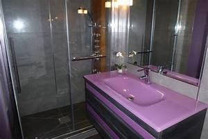 verre fenetre salle de bain mettons des briques de verre With meuble cuisine blanc laque 17 mettons des briques de verre dans la salle de bains