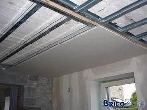 Faux Plafond Autoportant : faux plafond metal stud ~ Nature-et-papiers.com Idées de Décoration
