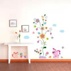 blumen design childrens wall stickers wall decals home design