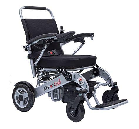 Freedom Chair Folding Electric Wheelchair