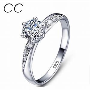 aliexpresscom buy classic simple design white gold With simple wedding rings for women