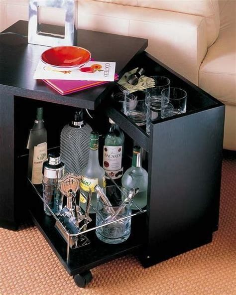 space saving bar ideas home bars portable bar and bar designs on pinterest