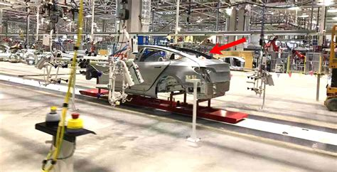 Tesla Model 3 Production In China Factory Undergoes First