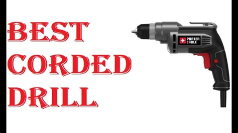 corded drill  youtube