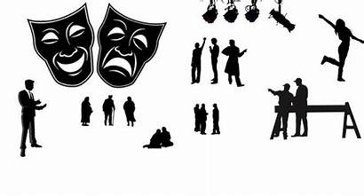 Clipart Acting Silhouette Drama Actor Stage Join