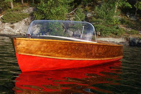 Boat Motor For Sale Peterborough by Peterborough Runabout 18 Ft 1956 Wooden Boats Not