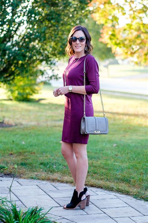 fall dress outfit  peep toe booties
