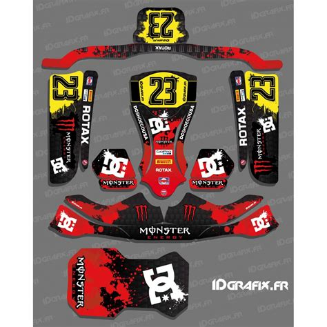 kit deco karting perso kit deco 100 custom for kart kg evo idgrafix
