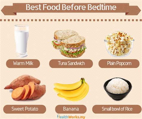 Snack Before Bed by Are You Taking The Right Snack Before Sleep Healthworks