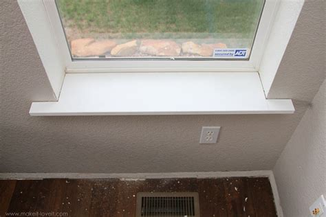 A Window Sill by Installing New Window Sills Won T Use Mdf Due To Moisture