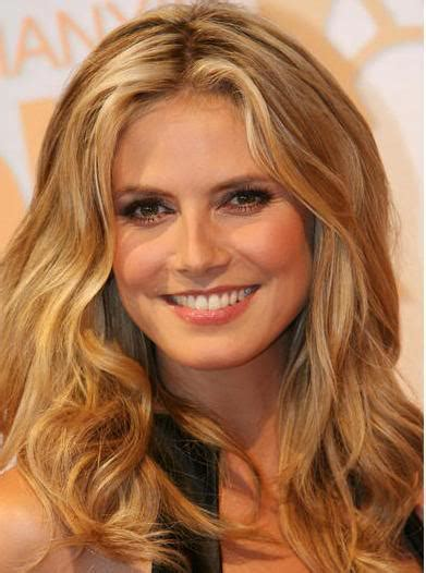 heidi klum  makeup fashion  style