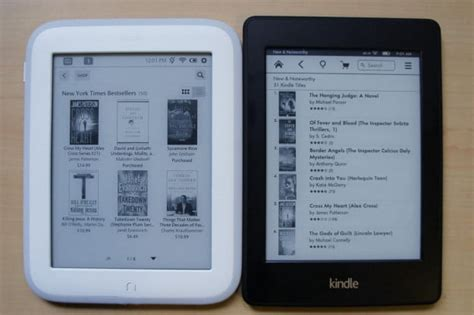 Nook Vs Kindle Shopping