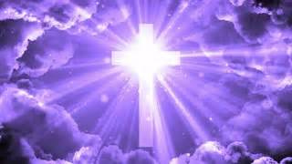 heavenly cross animated background motion background