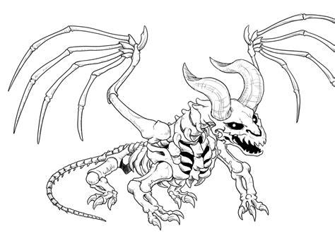 skeleton dragon  hyuthefish  deviantart