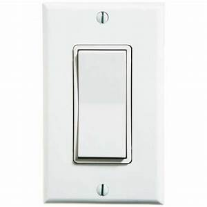 Illuminated Internal Lighted Decora Wall Switch 15a 120v