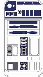 r2d2 iphone 4 skin by injust07 on deviantart With r2d2 printable template