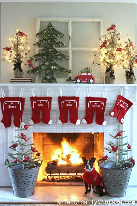 diy christmas mantel  decor ideas landeelucom