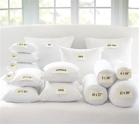 Pottery Barn Throw Pillow Inserts by Feather Pillow Insert Pottery Barn