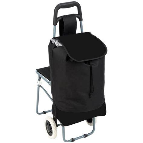 Gear Backpack Chair Canada by Maxam 174 Trolley Bag With Folding Chair 235797 Gear
