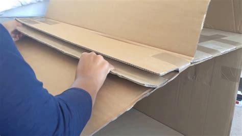 diy modern doll house recycled cardboard box diy