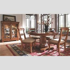 Tuscano Round Pedestal Dining Room Set From Kincaid (96