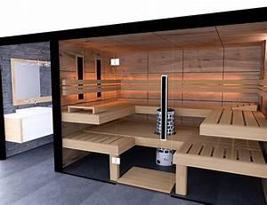 Badezimmer Mit Sauna : beta wellness sauna konzeptsauna glas liegen badezimmer ~ A.2002-acura-tl-radio.info Haus und Dekorationen