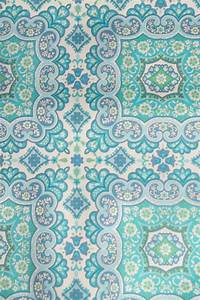 Vintage wallpaper | Love Turquoise | Pinterest