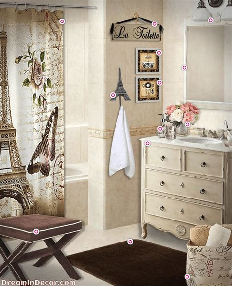ideas  paris bathroom decor  pinterest