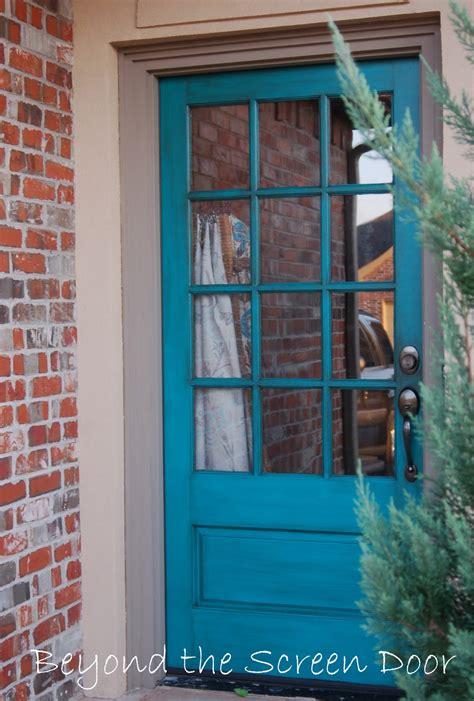 front screen doors more turquoise front doors sonya hamilton designs
