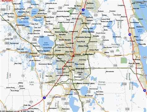 map  orlando